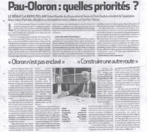 Pau-Oloron Quelles priorités